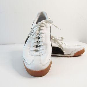 Puma Roma, Retro White & Brown Sneakers Size 10.5